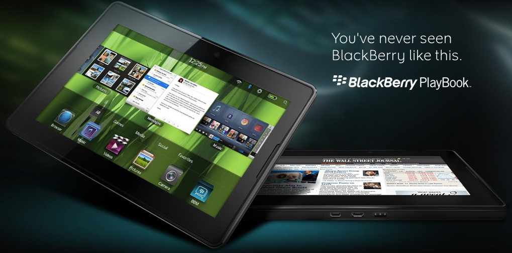 Blackberry Playbook specifications and cost