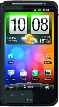HTC Desire HD price and specifications