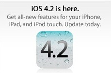 iOS 4.2 for iPhone, iPod Touch and iPad