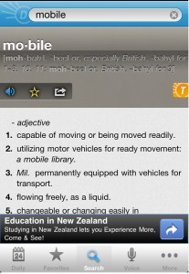 Dictionary.com Mobile