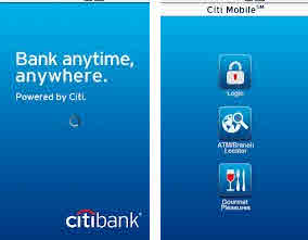 City bank mobile app