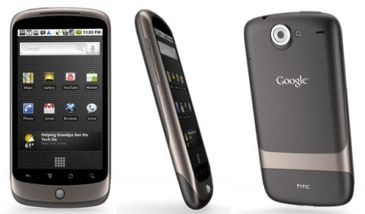 Nexus One specifications