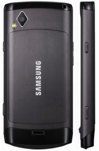 Samsung S8500 Wave camera