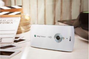 Sony Ericsson Vivaz Pro HD camera