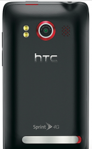 HTC EVO 4G camera