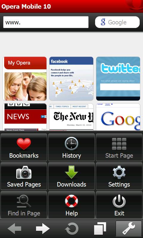 Opera mobile 10.0 final