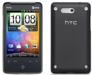 HTC Aria specification and cost in India