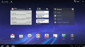 Android OS 3.0 UI