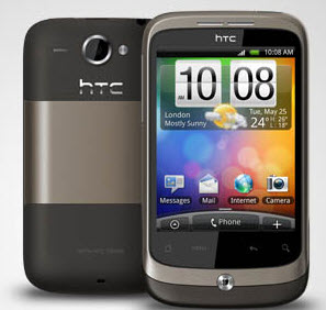 HTC Wildfire specification cost in India