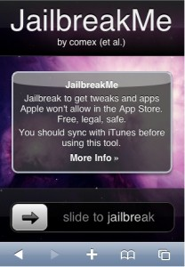 Jailbreak iOS 40 iPhone iPod iPad jailbreakme