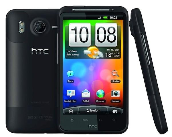 HTC Desire HD official  photos