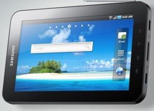 Samsung Galaxy Tab photos front