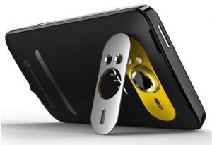 HTC HD 7 back side