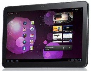Samsung Galaxy Tab 10.1 photo front