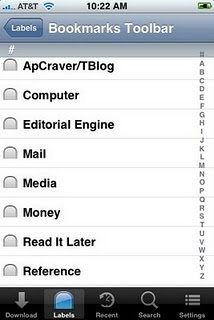 Transfer Bookmarks Desktop iPhone browser