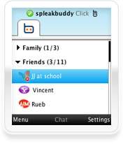 Ebuddy mobile messenger software