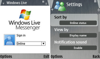 Windows live messenger mobile