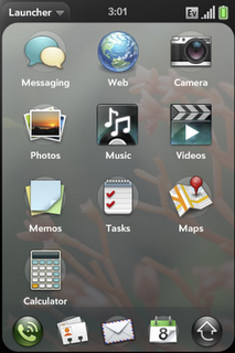 Palm web OS features