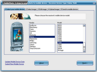 Mobile Photo software