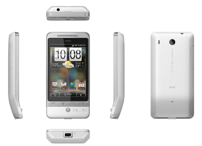 HTC Hero four side view
