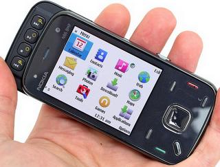 Nokia N86 menu view