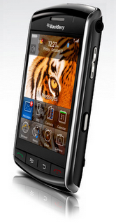 BlackBerry storm side view