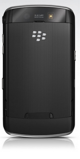 Blackberry storm back view