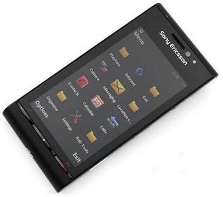 Sony Ericsson Satio front view